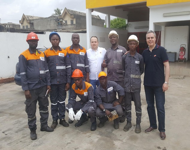 Asis Automation continued its product training in Ivory Coast in Africa.